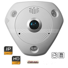 Original English DS-2CD63C2F-I HD 12MP IP Network IR Panorama Multiple Viewing Fisheye Camera PoE Micro SD