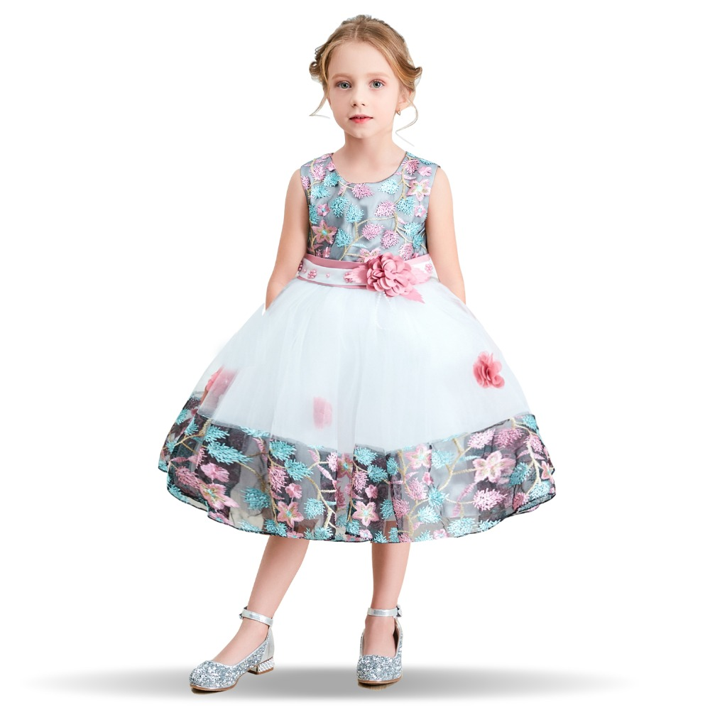 Fancy   Flower     Girl     Dress   Prom Wedding Gown Teenagers   Dresses   for   Girl   Children Party Clothing Baby Kids Evening Formal Wear   Dress