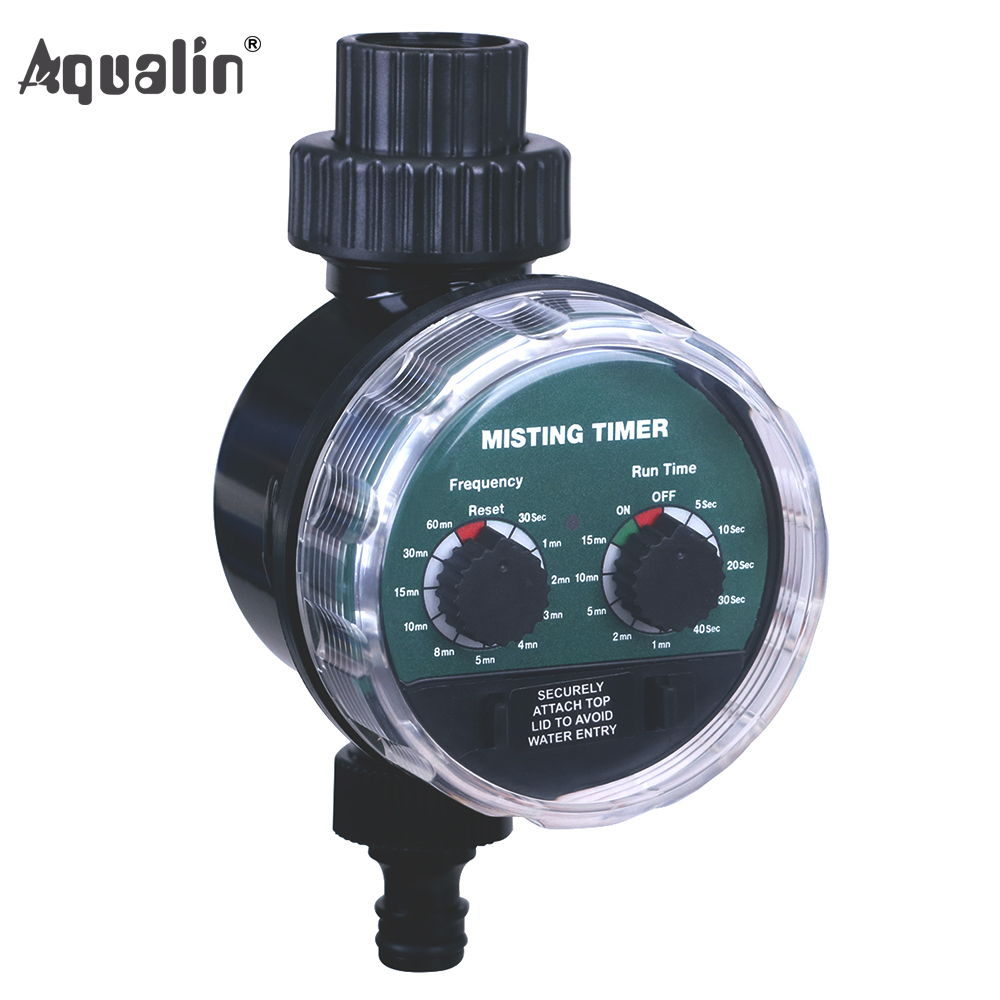 Aqualin 2018 Misting Ball Valve Seconds Water Timer