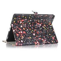 Hot Ultra Slim Starry Sky Print Stand PU Leather Magnetic Smart Sleep Wake Protective Cover Case