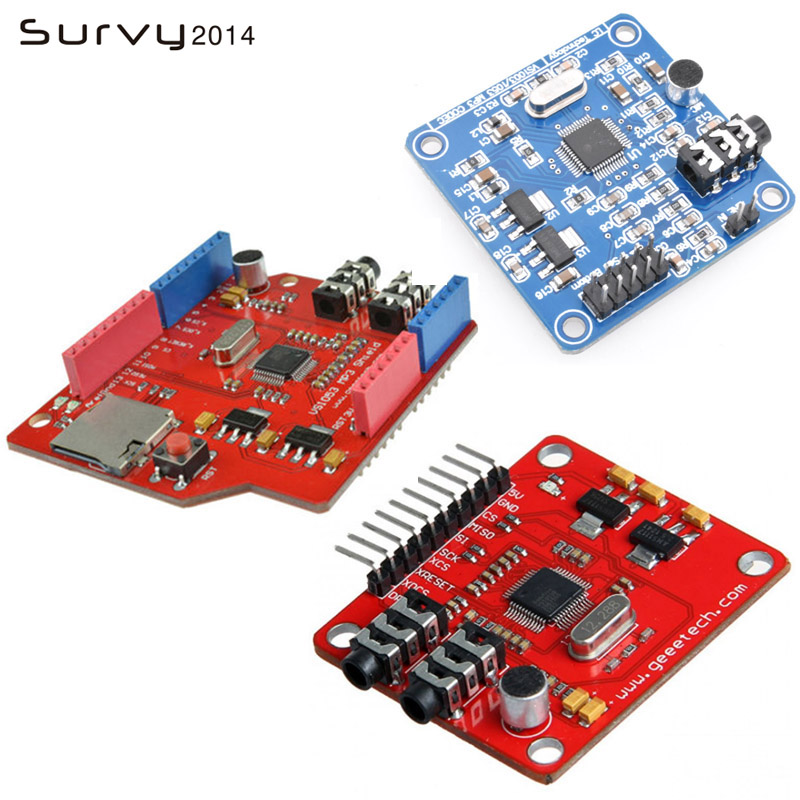 VS1053 VS1053B Stereo Audio MP3 Player Schild Rekord Decode Entwicklung Bord Modul Mit TF Karte Slot Für Arduino UNO R3