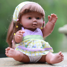 30cm full silicone Vinyl reborn baby dolls lifelike black African reborn babies bonecas children playhouse toys girls gifts hot 57cm full silicone body reborn babies dolls girls bath lifelike real vinyl bebe brinquedos reborn bonecas