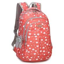 Fashion Girl School Bag Waterproof light Weight Girls Backpack bags printing backpack child for teenage girls Mochila Escolar