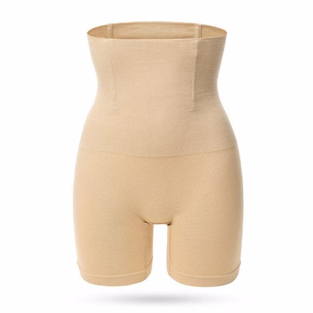 Women High Waist Shaper Shorts Breathable Body Shaper Slimming Tummy Underwear Panty Shapers 3
