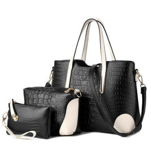 Big Bags Female Winter Fashion Women s Handbag Picture Package Piece Set One Shoulder Bags For