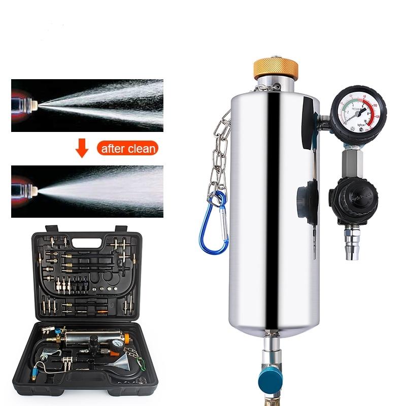 Autophix Gx100 Carburant Outil Testeur De Voiture Auto Propre Système D'injection de Carburant Injecteur Testeur Cleaner À Laver Outil Pression Vide Testeur