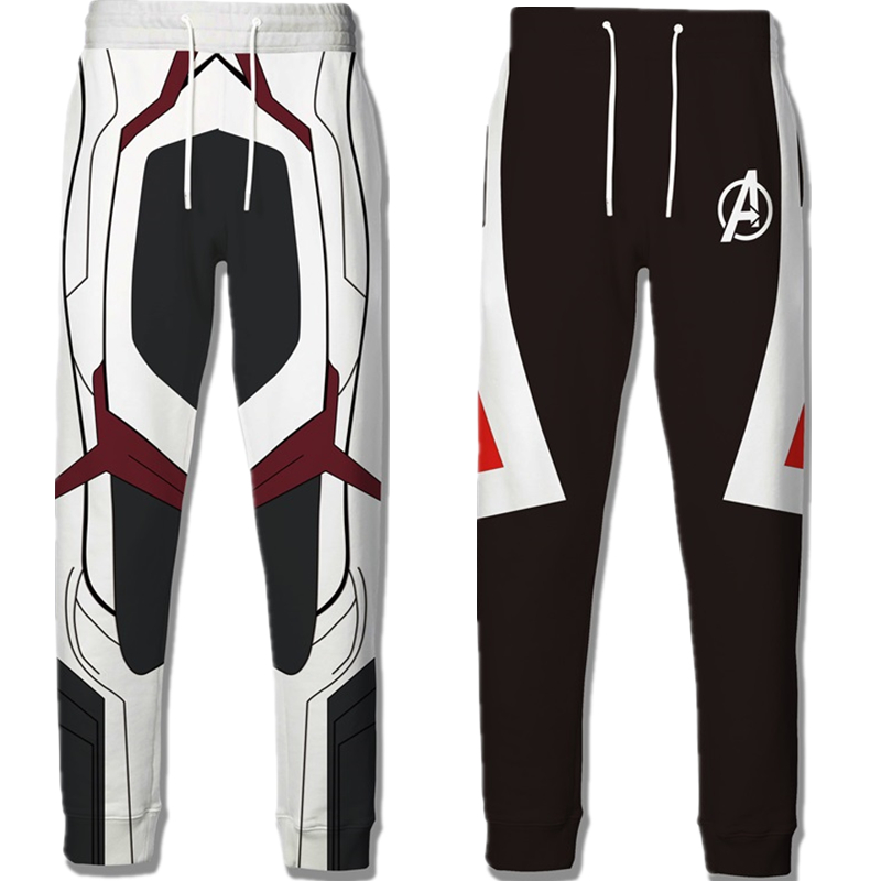 Movie Avengers Endgame Quantum Realm 3D Print Casual Pants Cosplay Costumes Trousers