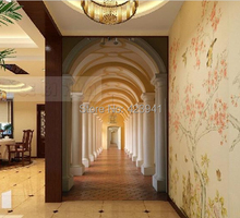 191 Can be customized 3 d visual space home decoration mural art wallpaper good quality fashion wall stickers home decor