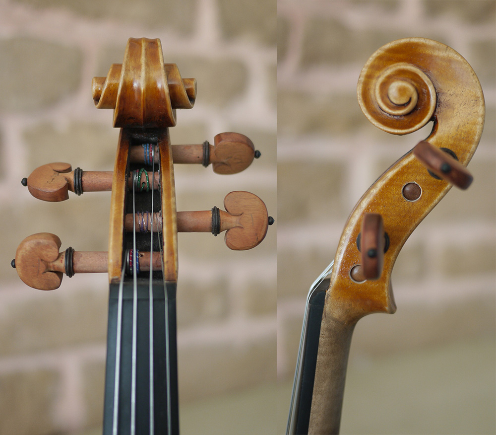 Копия Francesca шедевр скрипки с этикеткой. Теплый тон. ручной работы. № 1020