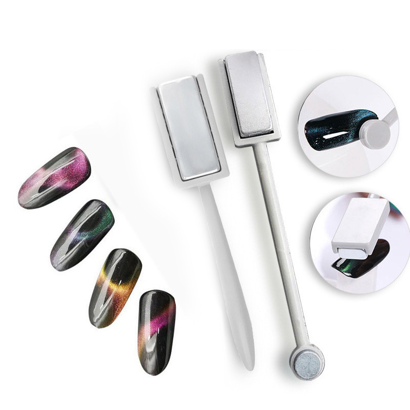 Nail Art DIY Tool Magnetic Plate For All Magic 3D Cat Eyes Magnet Pen Nails Gel Polish Tools For Women Lady Nail Art Tool