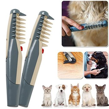 Electric Pet Dog Grooming Comb for Cat Hair Trimmer Remove Mats furmins Tangles Tool Supplies Cat Grooming