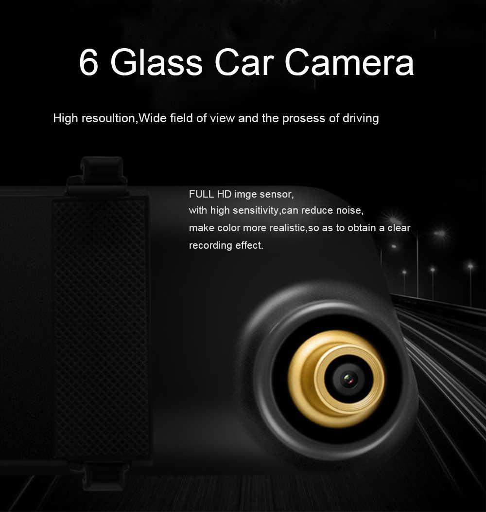 4,3 дюймов Автомобильный видеорегистратор камера зеркало заднего вида двойной объектив Full HD 1080 P ночного видения g-сенсор видеорегистратор Автомобильный видеорегистратор Регистратор