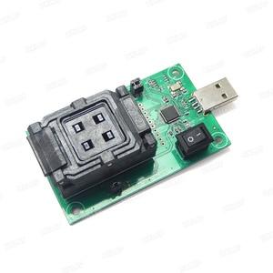 Image 3 - EMMC153/169 gniazdo testowe USB czytnik IC rozmiar 11.5x13mm nand flash Test do odzyskiwania danych
