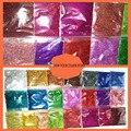 22 colores Láser Holográfica Colorido 0.2 MM 1/128 fino Brillo En Polvo para la decoración de uñas y otros Accesorios de BRICOLAJE