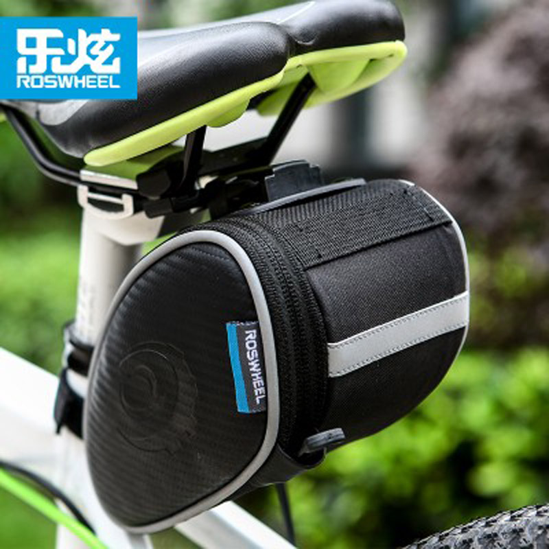 1*opp Bags Cycling Rear Rack Seat Saddle Bike Tail Storage Pannier Pouch Bicycle Bicycle Accessories
