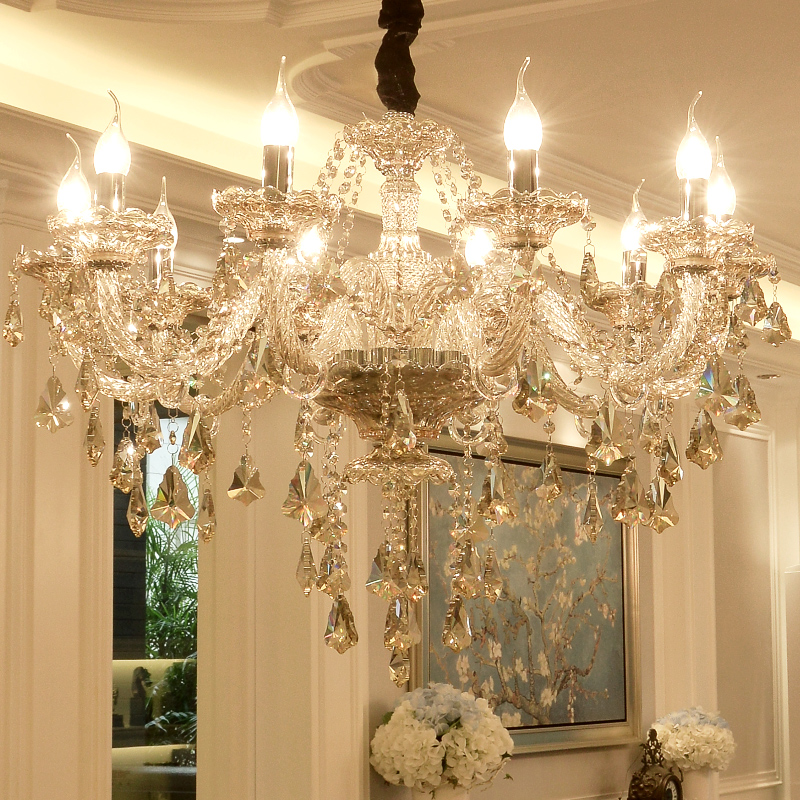 Chandelier Crystal Luxury Fashion Candle Crystal