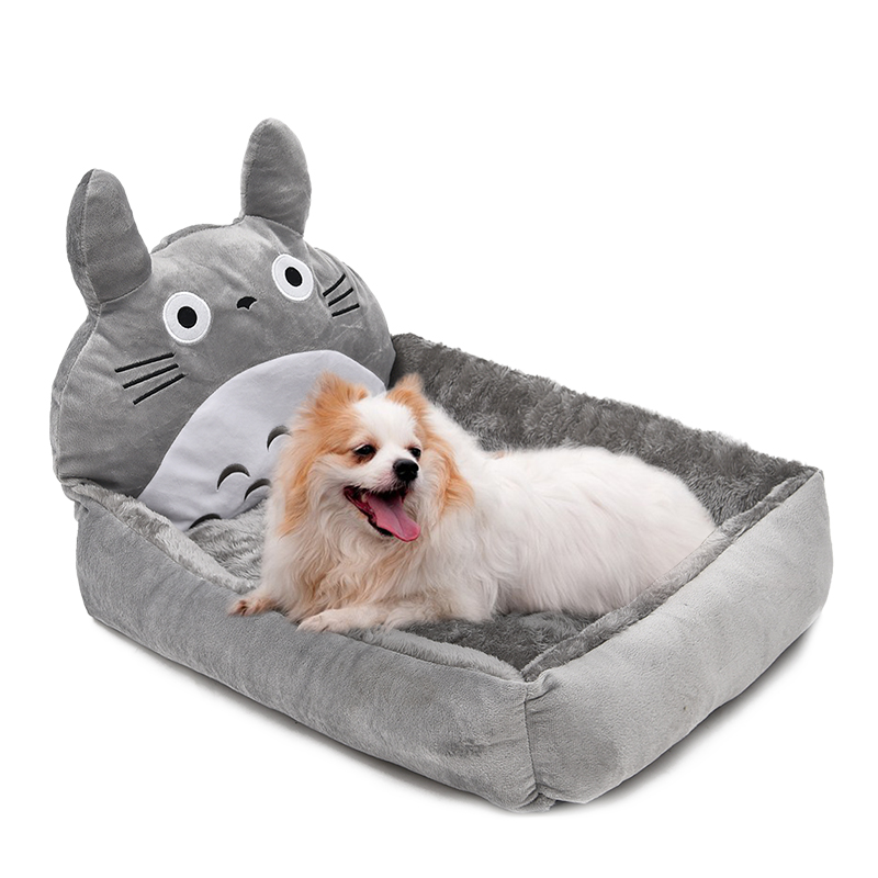 Super Cute Pet Bed Dog Dog Cat Bed Lovely Cartoon  : Super Cute Pet Bed Dog Cat Bed Lovely Cartoon Totoro Shape Puppy Kennel Short Fluff Material from sites.google.com size 800 x 800 jpeg 271kB