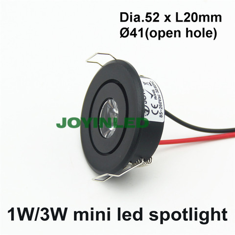 luz do armario interior mini diodo emissor de luz downlight ac90 260v