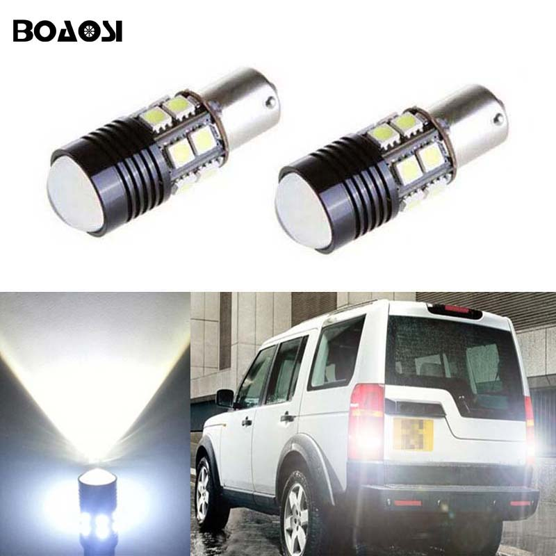 High Power Reverse Light Bulbs 30 LED Canbus P21W For Land Rover Discovery 89-98