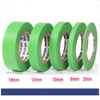 Spraying Nitro Paint Special Masking Tape Model Special Masking Tape 2-18mm Model Hobby Painting Tools Accessory Model Building Kits TOOLS Material: Paper