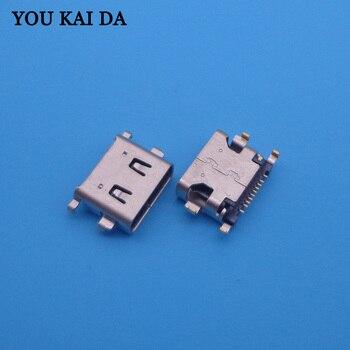 2PCS/LOT 10pin micro mini USB charger charging jack connector 10-pin female for General mobil GM5 plus socket dock plug port
