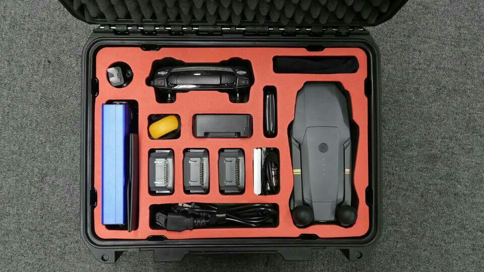 wateproof hard plastic case for DJI Mavic & Spark