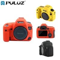 PULUZ Cover Case For Canon EOS 5D Mark IV Silicone Soft Protective Case For Canon Camera Cases