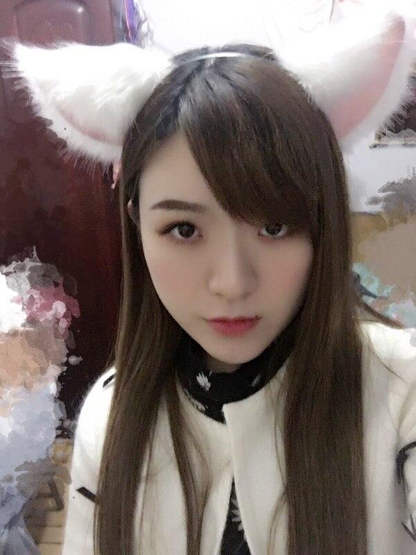 Anime Neko Costume Cat Ears Fox Ears Clip Hairpin Party Club Accessories Cosplay Cos Halloween Orecchiette