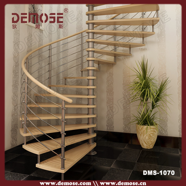 Factory Quality Spiral Stairs Design Indoor Wood On Aliexpress Com