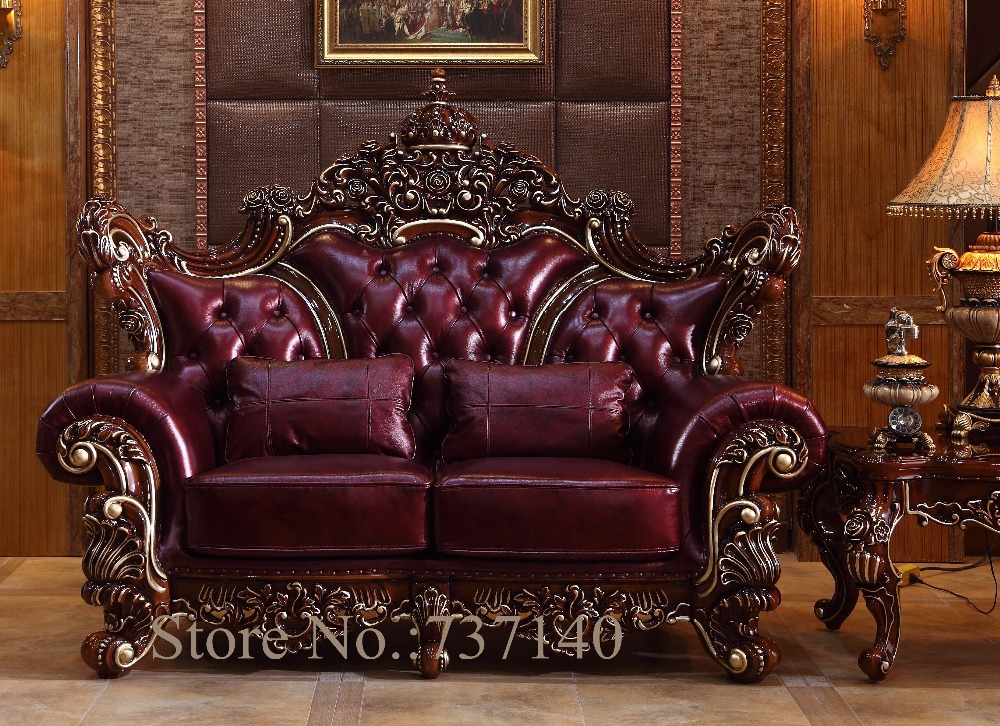 High End Leather Sofas Sofa Set Living Room Furniture