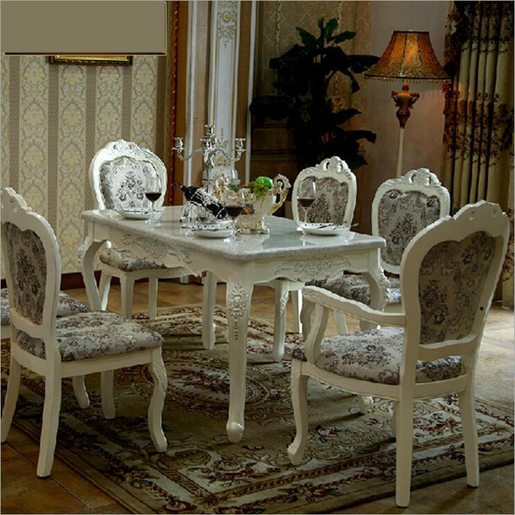 Modern Style Italian Dining Table, 100% Solid Wood Italy Style Luxury round Dining Table set o1113