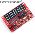 New Crystal Oscillator Frequency Counter Meter 1Hz-50MHz Digital LED PIC DIY Kits