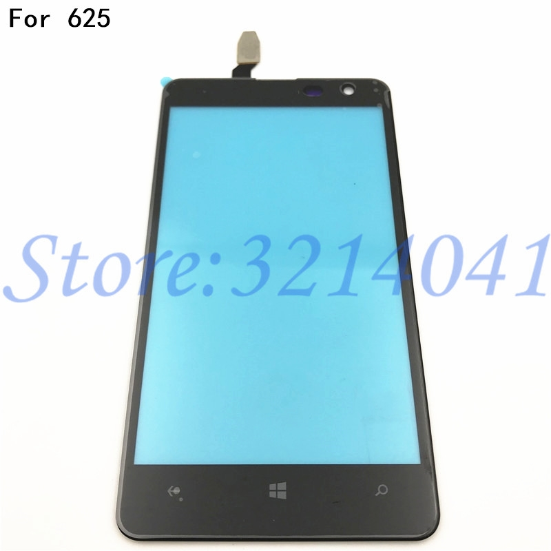 4.7 inches <font><b>Touch</b></font> <font><b>Screen</b></font> For <font><b>Nokia</b></font> <font><b>Lumia</b></font> <font><b>625</b></font> N625 <font><b>Touch</b></font> <font><b>Screen</b></font> Digitizer <font><b>Sensor</b></font> Front Glass Lens panel image