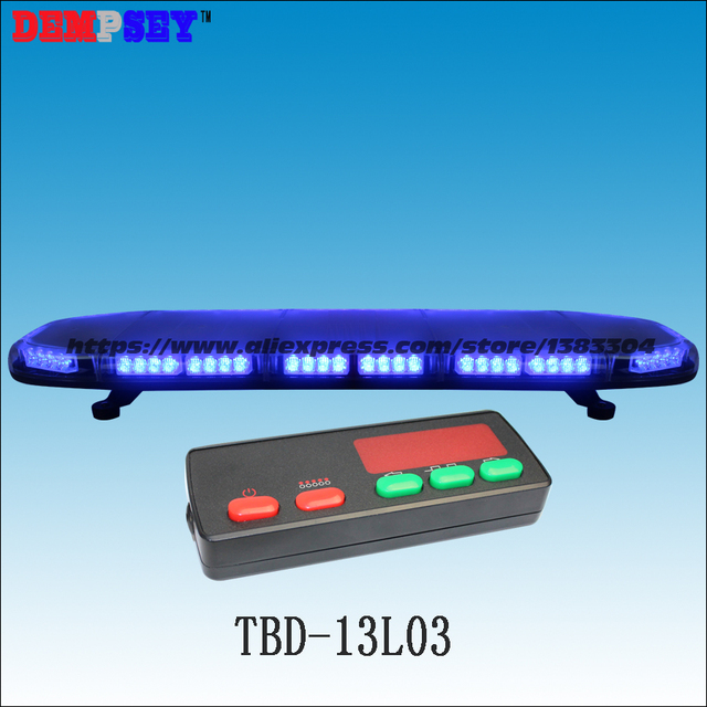Tbd 13l03 high quality 41blue led lightbarsuper brightpolice tbd 13l03 high quality 41blue led lightbarsuper brightpolice aloadofball Image collections