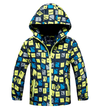 2017 Fashion Boys Jacket Children's Winter Kids Coat Hoodies Windbreakers Waterproof Windproof Boys Jackets 4-15y Spring Autumn