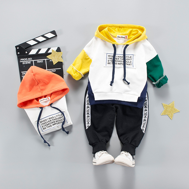 2018 Baby & Boys Clothing Set Kids Clothing Sets Long Sleeve T-Shirt + Pants Autumn Spring Childrens Sports Suit Boys Clothes