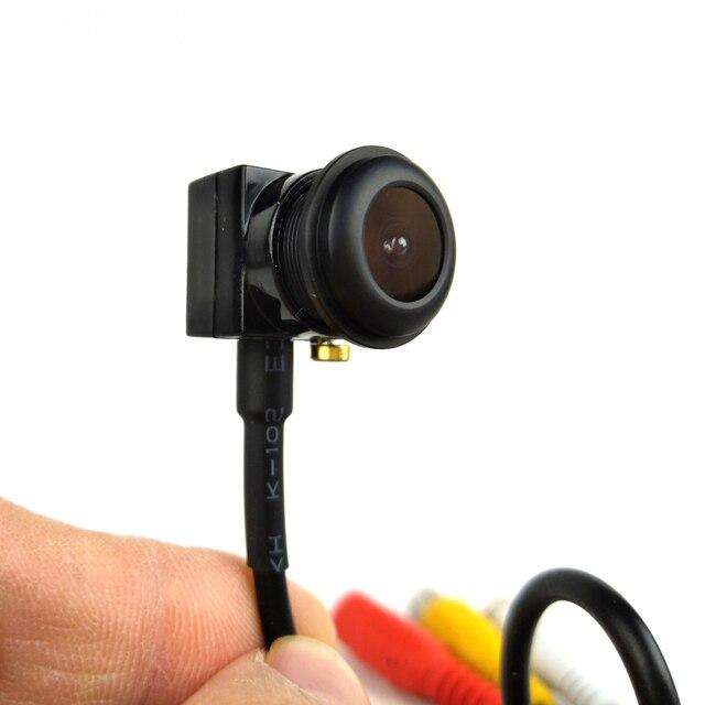 Verysmart 700TVL Analog Camera Mini Gia Đình Giám Sát An Ninh Micro Camera Góc Rộng 140 Độ Quan Điểm