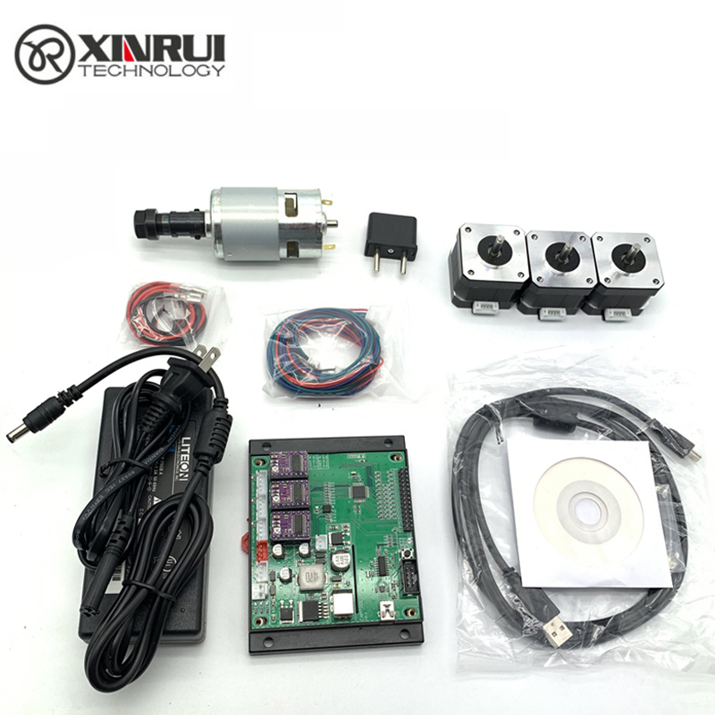 CNC Engraver GRBL Controller Kit Wood Router Laser Engraving Machine Control Component Spindle Stepper Motor For Cnc 3018 1610