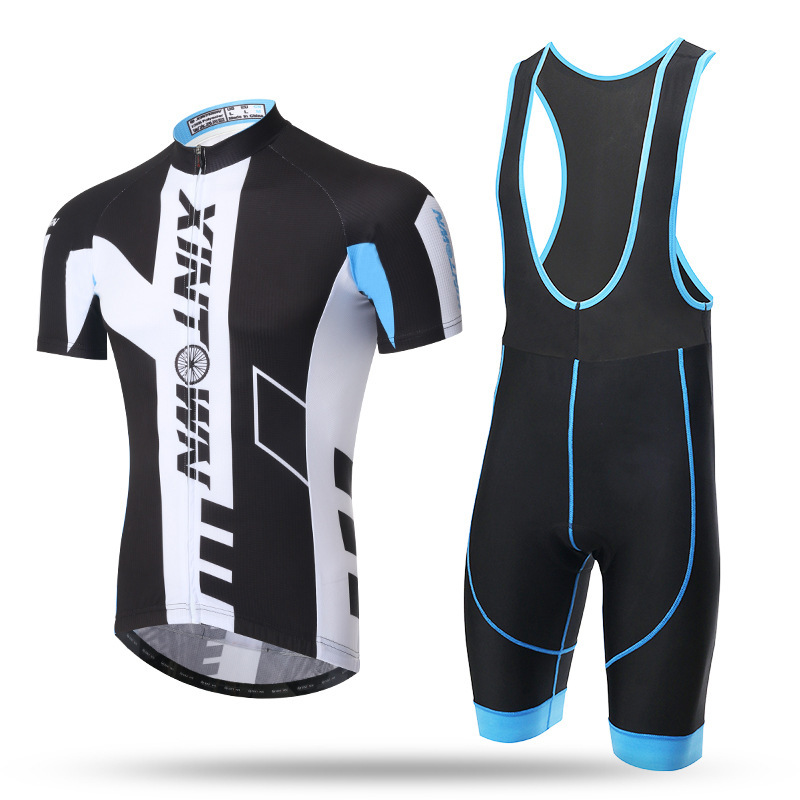 XINTOWN Short Sleeve Cycling Jersey Sets Men 2017 Summer Cycling Clothing Kits Male Breathable Mountain Bike Mallot xintown men s outdoor cycling jersey sets bib shorts sport short sleeve cycling jersey mountain bike clothing wear suit