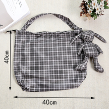 ECO Shopping Bags Reusable Cotton Filling Tote Women Men grocery High capacity  foldable green polyester Bag недорого