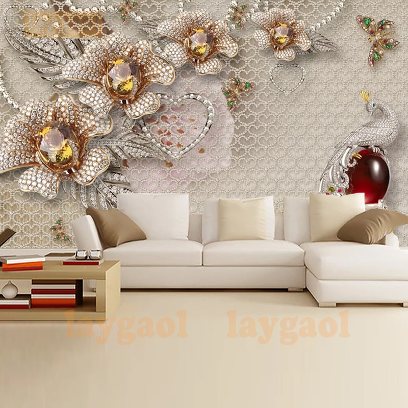 Design An Elegant Bedroom In 5 Easy Steps: Custom 3D Fashion Elegant Stereoscopic Jewelry Bedroom