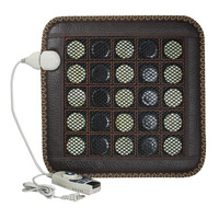 220V NEW Natural Jade Germanium Tourmaline Stones Infrared Heating Mat Jade Stone Massage Mat