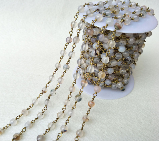 white beaded gold shop beads online chains chain ch