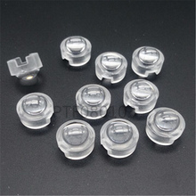 100pcs 13mm mini LED Lens 1W 3W 5W 15 30 45 60 90 100 Degree Neednt Holder for IR CCTV Optical PCB Convex Lenses