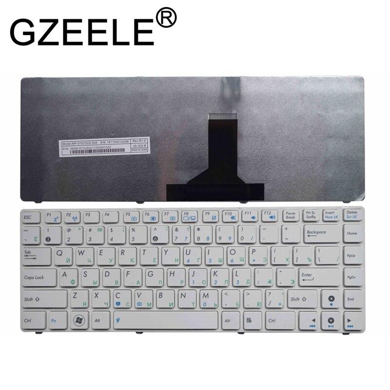 GZEELE Russian RU Keyboard For ASUS UL30VT U30JC U30SD U31F U31JG U31SD U31SG U35F