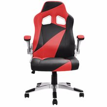 Goplus 5 Colors PU Leather Executive Racing Style Bucket Seat Office Desk Task Mesh Swivel Lifting Computer Gaming Chair HW52014(China)