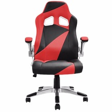 Goplus 5 Colors PU Leather Executive Racing Style Bucket Seat font b Office b font Desk
