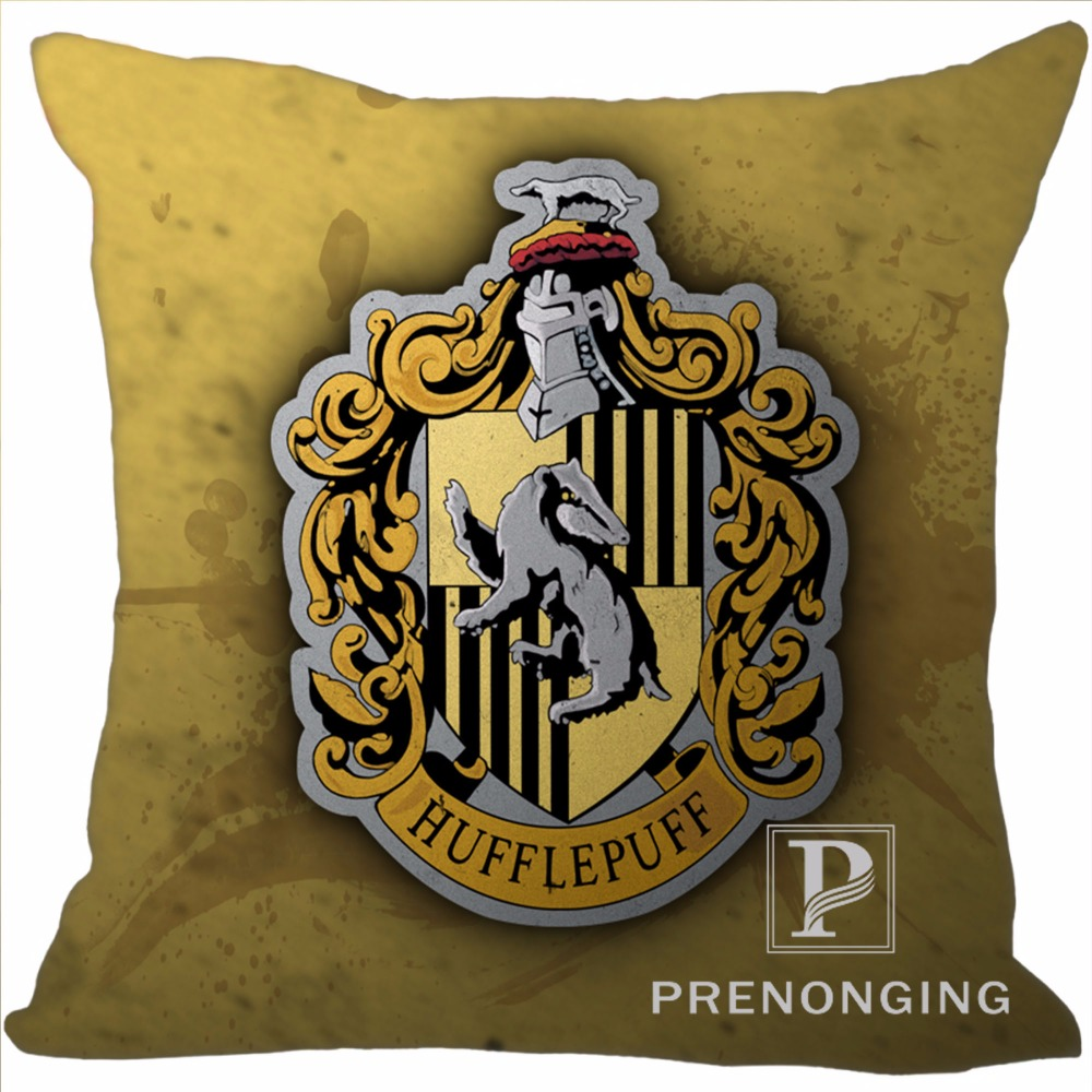 Custom Decorative Pillowcase Hogwarts Harry Potter Square Zippered Pillow Cover Best Gift (One Side)180117#96