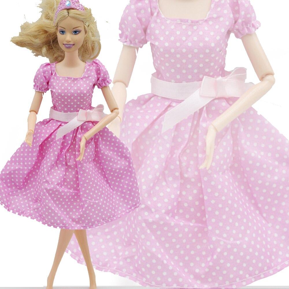 Rosa muñeca vestido hecho a mano hermoso más nuevo la manera de ...
