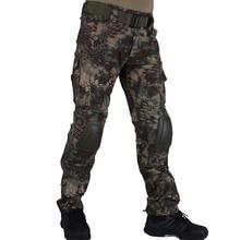 Охотничьи камуфляжные штаны tactische Broek Mandrake MR broek en kniebeschermers militaire игра косплей униформа